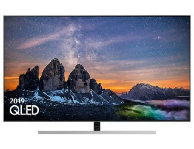 Samsung QE55Q80RATXXH Smart Τηλεόραση QLED