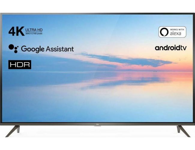 TCL 65ΕP640 Ultra HD Smart Android Τηλεόραση LED