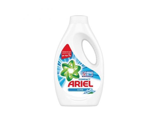Ariel Alpine Υγρό 20 Mεζούρες 8001090762054