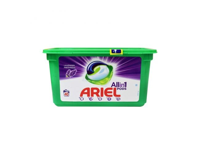 Ariel All in One Pods Lavender Freshness 23 Mεζούρες Υγρό Απορρυπαντικό Ρούχων σε Κάψουλες 8001090773043