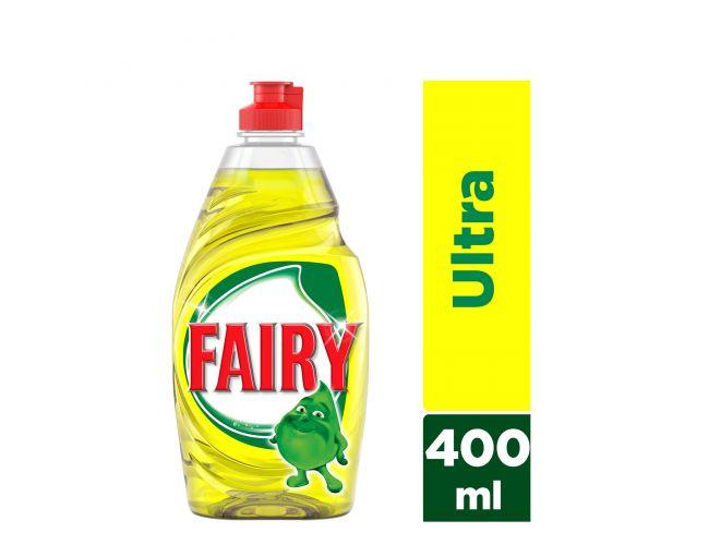 Fairy Original Ultra Lemon 400 ml Υγρό πιάτων για πλύσιμο στο χέρι 4084500719231