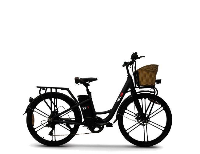 ESF XT-1 Ηλεκτρικό Ποδήλατο Μαύρο