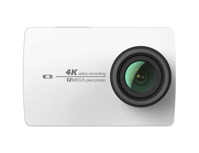 Yi Technology 4K & Waterproof Case White Action Camera