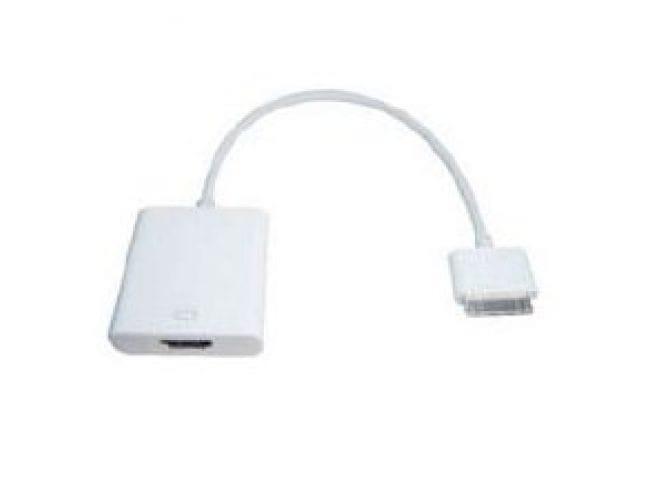 Aavara AA2HDMi - Apple iPad, iPhone 4, iPod Touch 4G to HDMI Adaptor,1920x1200 1080p