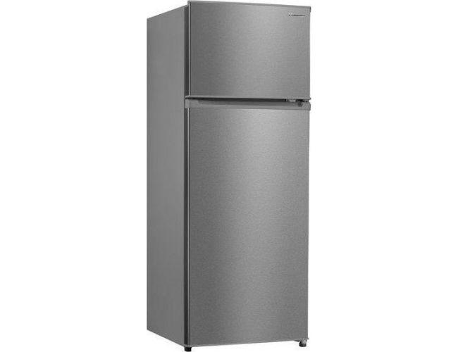 Inventor INVMS207A2I Δίπορτο Ψυγείο Inox