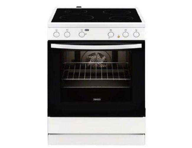 Zanussi ZCV 65030 WA Ηλεκτρική Κεραμική Κουζίνα