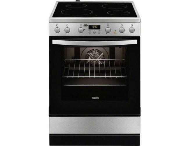Zanussi ZCV 65320 XA Ηλεκτρική Κεραμική Κουζίνα