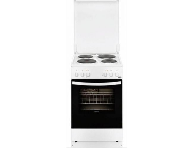 Zanussi ZCE550G1WA Ηλεκτρική Εμαγιέ Κουζίνα