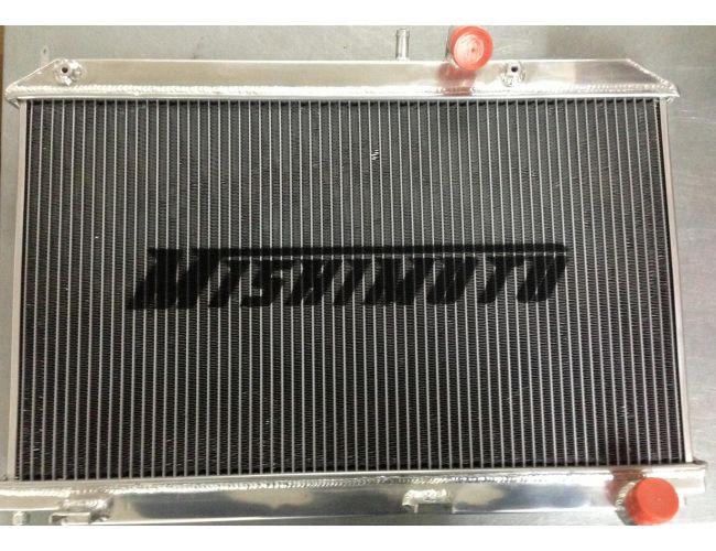 MISHIMOTO ALUMINIUM SPORT RADIATOR MAZDA RX-8 04-08 MANUAL