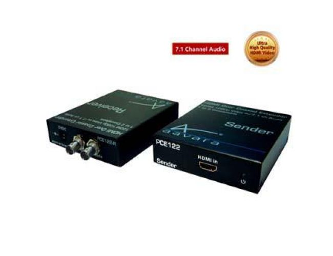 Aavara ΡCΕ122-R HDMI over Coaxial Extender Receiver