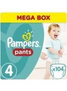 Pampers Πάνες Pants (104τεμ) No4 (9-14kg)