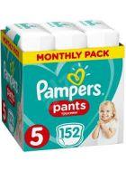 Pampers Πάνες Pants (152τεμ) No5 (12-18kg) 8001090808004