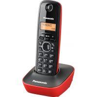 Panasonic KX-TG1611 GRR Κόκκινο Ασύρματο Τηλέφωνο