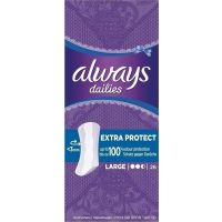 Always Dailies Large Extra Protect Σερβιετάκια, 26 Τεμ 8001090718464