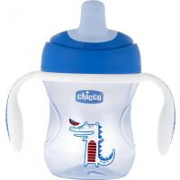 Chicco Natural Fit Semi-soft Spout Trainer Blue 6m+