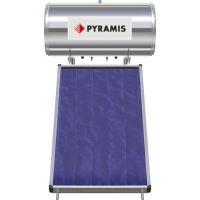 Pyramis 160lt/2m² Επιλεκτικού συλλέκτη Τριπλής Ενέργειας Ηλιακός Θερμοσίφωνας 026001105