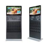 "Amber 32"" Digital Signage Ultra Thin Info Kiosk"