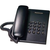 Panasonic KX-TS500EXB Μαύρο Τηλέφωνο