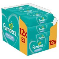 Pampers Fresh Monthly Βοχ Μωρομάντηλα 624τεμ (12x52τεμ)