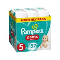 Pampers Πάνες Pants (152τεμ) No5 (12-18kg) 8001090808004