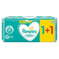 Pampers Sensitive Μωρομάντηλα 104τεμ (2x52τεμ)