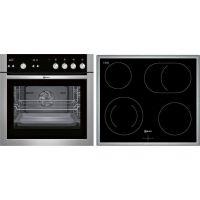 Neff NA15CP255 (E15P42N5 + M13R42N2) Σετ Κουζίνα Εστία