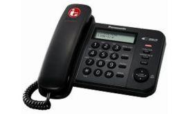 Panasonic ΚΧ-ΤS560ΕΧ2Β Μαύρο Τηλέφωνο