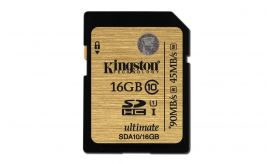 Kingston SDHC UHS-I Ultimate SDA10/16GB