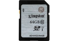 Kingston SDHC UHS-I 64GB SD10VG2/64GB