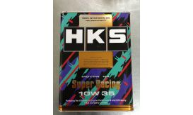 HKS SUPER RACING OIL 10W-35 100%SYNTHETIC 4L