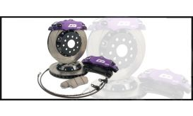 D2 FRONT 304mm 6 POT RACING BRAKE KIT