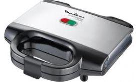 Moulinex SM156D Ultra Compact Mαύρη Τοστιέρα
