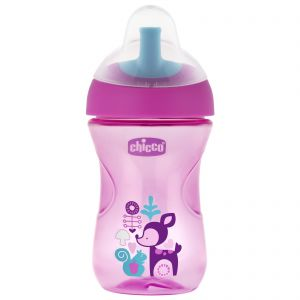 Chicco Advanced Cup 12m+ Pink 266ml