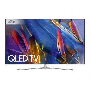 Samsung QΕ75Q7FΑΜ Smart Τηλεόραση QLED με Δορυφορικό Δέκτη