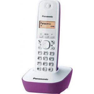 Panasonic KX-TG1611 Μωβ Ασύρματο Τηλέφωνο