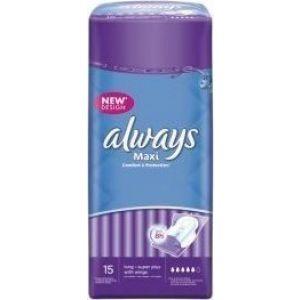 Always Σερβιέτες Maxi Long Plus (15 τεμ) 4015400428657