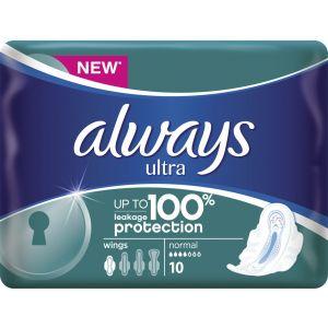 Always Σερβιέτες Ultra Plus Normal 10 Τεμ 4015400706953