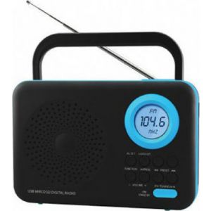 Felix FTR-1217 Ψηφιακό ραδιόφωνο BK/BL