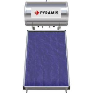 Pyramis 120lt / 2m² Επιλεκτικού Συλλέκτη Διπλής Ενέργειας Ηλιακός Θερμοσίφωνας 026000205