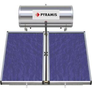 Pyramis 200lt / 4m² Επιλεκτικού Συλλέκτη Διπλής Ενέργειας Ηλιακός Θερμοσίφωνας 026000605