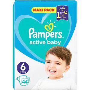 Pampers Πάνες Active Baby (44τεμ) No6 (13-18kg)