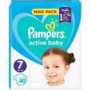 Pampers Πάνες Active Baby (40τεμ) No7 (15+ kg)