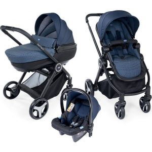 Chicco Trio Best Friend Oxford Πολυκαρότσι (Ο09-79146-79)