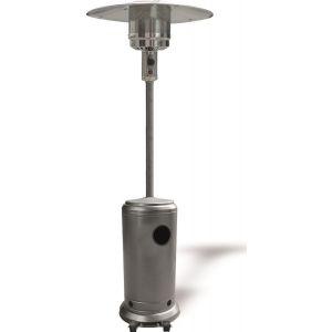 Eurolamp 147-29601 Θερμάστρα υγραερίου μανιτάρι Ασημί