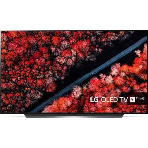 LG 77C9 Smart Τηλεόραση OLED με Δορυφορικό Δέκτη