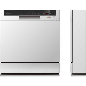 Crown WQP8-3802F-W Επιτραπέζιο Πλυντήριο Πιάτων