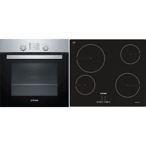 Pitsos PA00FF01 (PH00M00X0 + CRE611S06) Σετ Κουζίνα Εστία