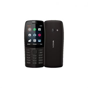 Nokia 210 DS Black Κινητό Τηλέφωνο
