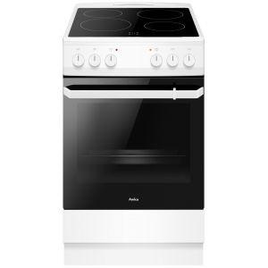 Amica 508CE2.20EP(W) Ηλεκτρική Κεραμική Κουζίνα