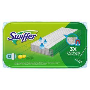Swiffer Υγρά Πανάκια Καθαρισμού Πατώματος 12τεμ.